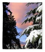 Twilight Hour Fleece Blanket