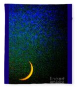 Cornicopial Cresent Moon  Fleece Blanket