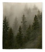 Twilight Mist Fleece Blanket