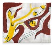 Twilight Of One's Life Fleece Blanket