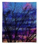 Twilight Sunset Fleece Blanket