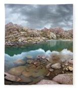 Twin Lakes - Weminuche Wilderness - Colorado Fleece Blanket