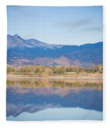 Twin Peaks Reflection Fleece Blanket