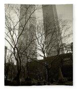 Twin Towers Fleece Blanket