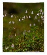 Twinflower Fleece Blanket