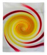 Twirled Cistus 1 Fleece Blanket