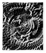 Twisted Gears Abstract Fleece Blanket