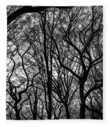 Twisted Trees Fleece Blanket