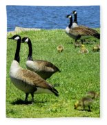 Two By Two  Fleece Blanket