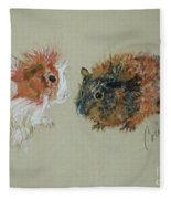 Two Guineas Fleece Blanket