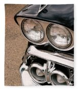 Two Headlights Fleece Blanket