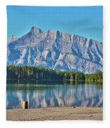 Two Jack Lake Fleece Blanket