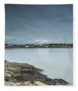 Two Minutes At Barry Island Fleece Blanket