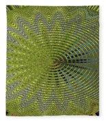 Two Saguaro Abstract #4496w3 Fleece Blanket