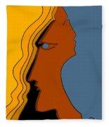 Two Sides Fleece Blanket