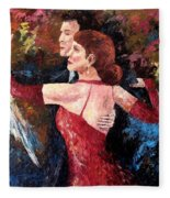 Two To Tango Fleece Blanket