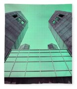 Two Towers Fleece Blanket