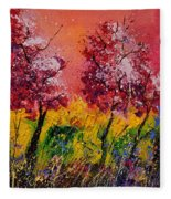 Two Trees Fleece Blanket