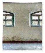 Two Windows Fleece Blanket
