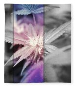 Tye-dye Bud Fleece Blanket