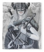 Tyrja Fleece Blanket