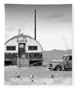 U - We Wash - Death Valley Fleece Blanket