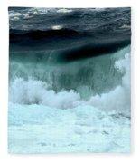 Ucluelet Breaking Waves Fleece Blanket