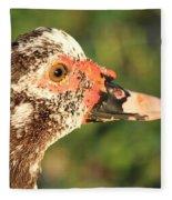 Ugly Duck Fleece Blanket