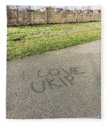 Ukip Grafitti Fleece Blanket