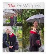 Ula And Wojtek Engagement 1 Fleece Blanket