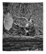 Ula And Wojtek Engagement 16 Fleece Blanket