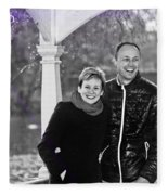 Ula And Wojtek Engagement 6 Fleece Blanket