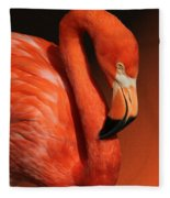 Ultimate Orange Fleece Blanket