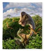 Ultrasaurus Fleece Blanket