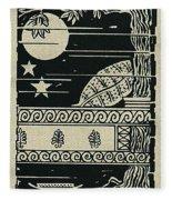 Ulysses 4 Fleece Blanket