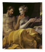 Ulysses And Penelope Fleece Blanket