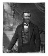 Ulysses S. Grant, 18th American Fleece Blanket