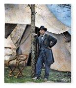 Ulysses S. Grant Fleece Blanket