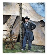 Ulysses S. Grant Fleece Blanket