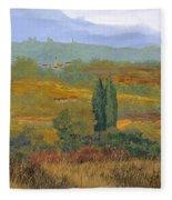un altro pomeriggio in Toscana Fleece Blanket