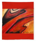 Uncertainity Fleece Blanket