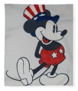 Uncle Mickey Fleece Blanket