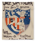 Uncle Sam's Church Fleece Blanket