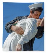 Unconditional Surrender 2 Fleece Blanket