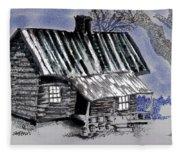 Under A Tin Roof Fleece Blanket