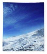 Under An Iridescent Sky Fleece Blanket