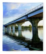 Under The Bridge Fleece Blanket