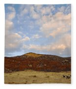 Under The Colorado Sky Fleece Blanket