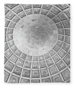 Under The Dome At The Jefferson Memorial Fleece Blanket