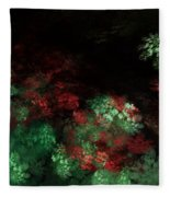 Under The Forest Canopy Fleece Blanket